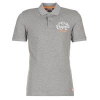 tekstylia Męskie Koszulki polo z krótkim rękawem Jack & Jones JORTRAST Szary