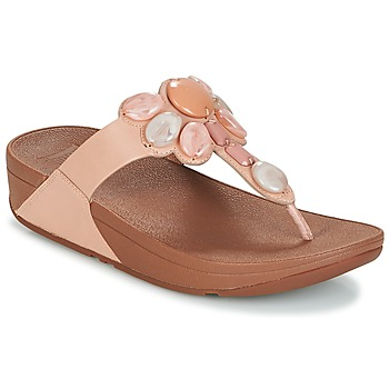 Buty Damskie Japonki FitFlop HONEYBEE JEWELLED TOE Nude