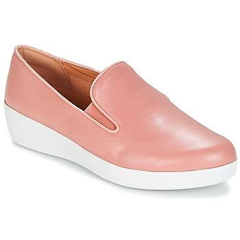Buty Damskie Tenisówki FitFlop SUPERSKATE Różowy