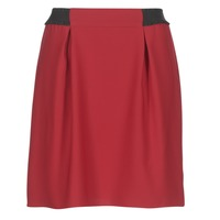 tekstylia Damskie Spódnice Naf Naf KATIA Czerwony