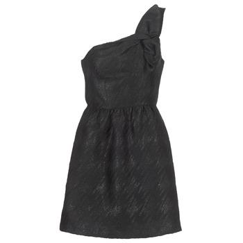 tekstylia Damskie Sukienki krótkie Naf Naf ECLAIR Czarny