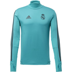 tekstylia Męskie Bluzy adidas Performance Koszulka Real Madrid Training Top Turkus / Turkus