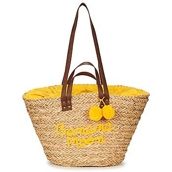 Torby Damskie Torby shopper Banana Moon LACELY WOODRAW Naturalne / Żółty