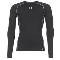 tekstylia Męskie T-shirty z długim rękawem Under Armour LS COMPRESSION Czarny