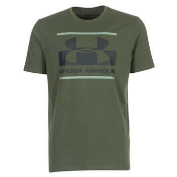 tekstylia Męskie T-shirty z krótkim rękawem Under Armour BLOCKED SPORTSTYLE LOGO Kaki