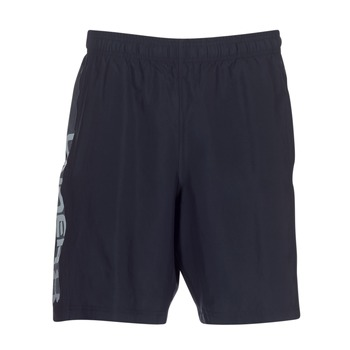 tekstylia Męskie Szorty i Bermudy Under Armour WOVEN GRAPHIC WORDMARK SHORT Czarny