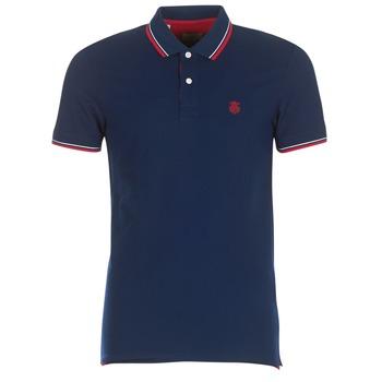 tekstylia Męskie Koszulki polo z krótkim rękawem Selected SLHNEWSEASON Marine