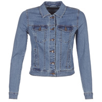 tekstylia Damskie Kurtki jeansowe Vero Moda VMHOT SOYA Niebieski / Medium