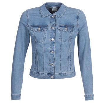 tekstylia Damskie Kurtki jeansowe Vero Moda VMHOT SOYA Niebieski / Clair