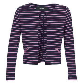tekstylia Damskie Kurtki / Blezery Vero Moda VMULA Marine / Różowy