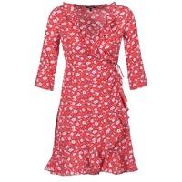 tekstylia Damskie Sukienki krótkie Vero Moda VMMOLLY Czerwony