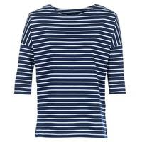 tekstylia Damskie Bluzy Vero Moda VMULA Marine / Biały