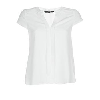 tekstylia Damskie Topy / Bluzki Vero Moda VMTONI Biały
