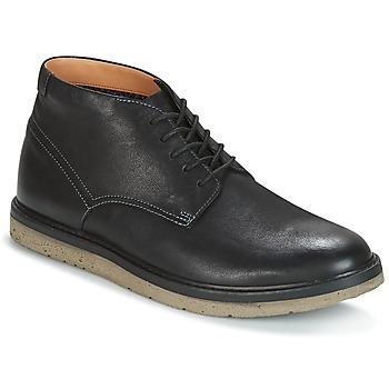 Buty Męskie Buty za kostkę Clarks BONNINGTON TOP Czarny / Leather