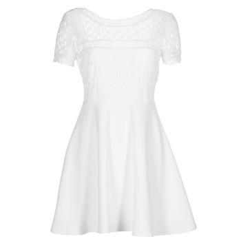 tekstylia Damskie Sukienki krótkie Betty London INLOVE Biały