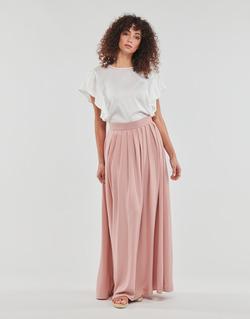 tekstylia Damskie Spódnice Betty London I-WEDDAY Różowy