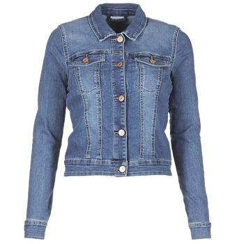 tekstylia Damskie Kurtki jeansowe Noisy May NMDEBRA Niebieski / Medium