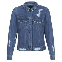 tekstylia Damskie Kurtki jeansowe Only BECKY Niebieski / Medium
