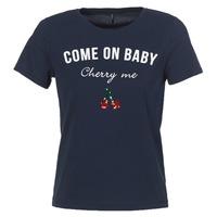 tekstylia Damskie T-shirty z krótkim rękawem Only KITA Marine