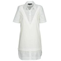 tekstylia Damskie Sukienki krótkie American Retro CHARLOTTE Biały
