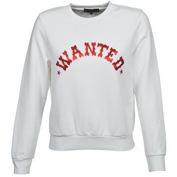 tekstylia Damskie Bluzy American Retro MIRKO Biały