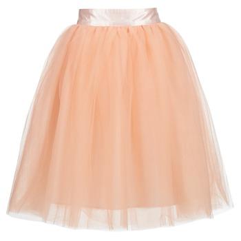 tekstylia Damskie Spódnice Betty London I-LOVA Różowy