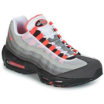 Buty Męskie Trampki niskie Nike AIR MAX 95 OG Biały / Czerwony