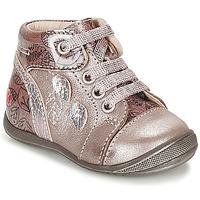 Buty Dziewczynka Trampki wysokie GBB ROSEMARIE Różowy