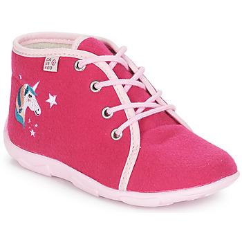 Buty Dziewczynka Obuwie domowe GBB FEE ARC EN CIEL Różowy
