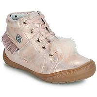 Buty Dziewczynka Trampki wysokie Catimini ROSALIE Różowy / Poudré