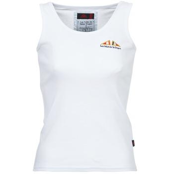 tekstylia Damskie Topy na ramiączkach / T-shirty bez rękawów Les voiles de St Tropez BLENNIE Biały