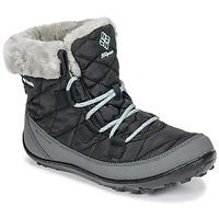 Buty Dziecko Śniegowce Columbia YOUTH MINX SHORTY OMNI-HEAT™ WATERPROOF Czarny