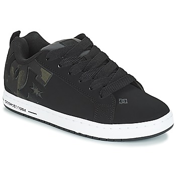 Buty Męskie Buty skate DC Shoes CT GRAFFIK SE M SHOE BLO Czarny