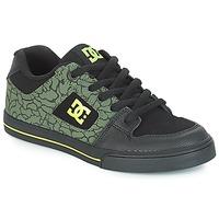 Buty Dziecko Trampki niskie DC Shoes PURE SE B SHOE BK9 Czarny / Zielony