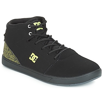 Buty Dziecko Trampki wysokie DC Shoes CRISIS HIGH SE B SHOE BK9 Czarny / Zielony