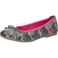 Buty Dziewczynka Baleriny Lulu AG640 Zielony