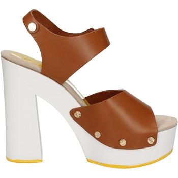 Buty Damskie Sandały Suky Brand Sandały AC483 Brązowy