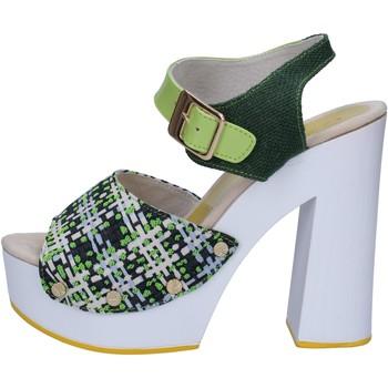 Buty Damskie Sandały Suky Brand Sandały AC489 Zielony