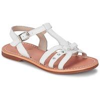 Buty Dziewczynka Sandały Aster VALENTINA Biały