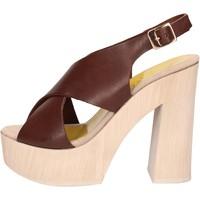 Buty Damskie Sandały Suky Brand Sandały AC799 Brązowy