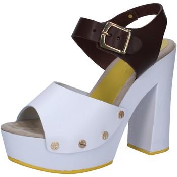 Buty Damskie Sandały Suky Brand Sandały AC809 Biały