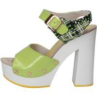 Buty Damskie Sandały Suky Brand Sandały AC811 Zielony