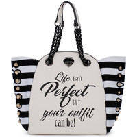 Torby Damskie Torby Le Pandorine PERFECT WHITE Bianco
