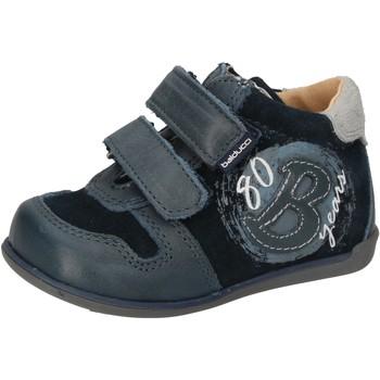Buty Chłopiec Trampki wysokie Balducci Sneakersy AD588 Niebieski