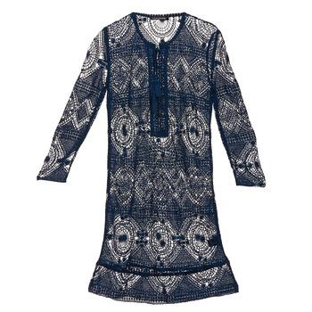 tekstylia Damskie Sukienki krótkie Antik Batik LEANE MARINE
