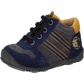 Buty Chłopiec Trampki wysokie Balducci Sneakersy AD597 Niebieski