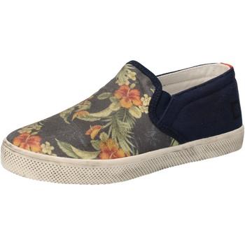 Buty Dziewczynka Tenisówki Date AD858 Niebieski