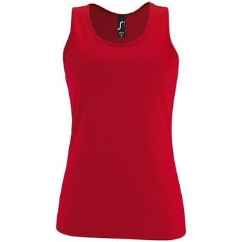 tekstylia Damskie Topy na ramiączkach / T-shirty bez rękawów Sols SPORT TT WOMEN Rojo
