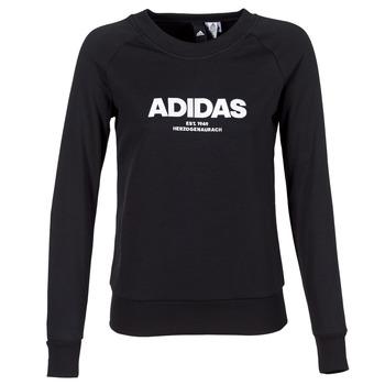 tekstylia Damskie Bluzy adidas Performance ESS ALLCAP SWT Czarny