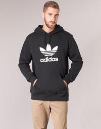 tekstylia Męskie Bluzy adidas Originals TREFOIL HOODIE Czarny